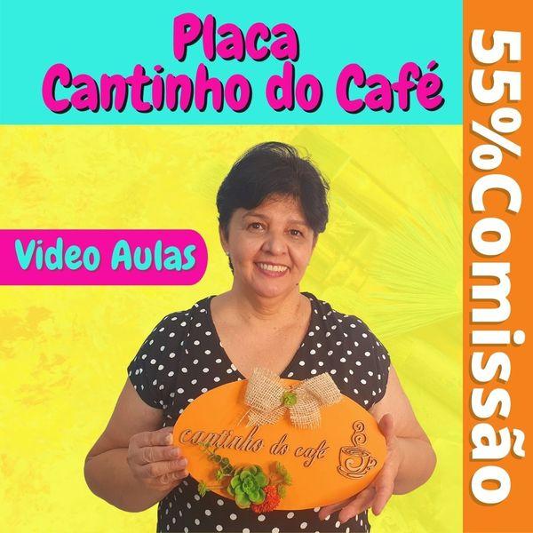 Imagem principal do produto Placa Cantinho do Café