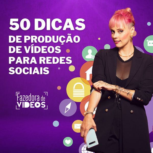Imagem principal do produto E-book - 50 Dicas Infalíveis de Video Marketing