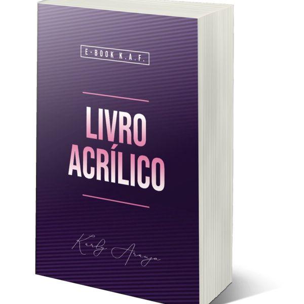 Imagem principal do produto E-book do Acrílico