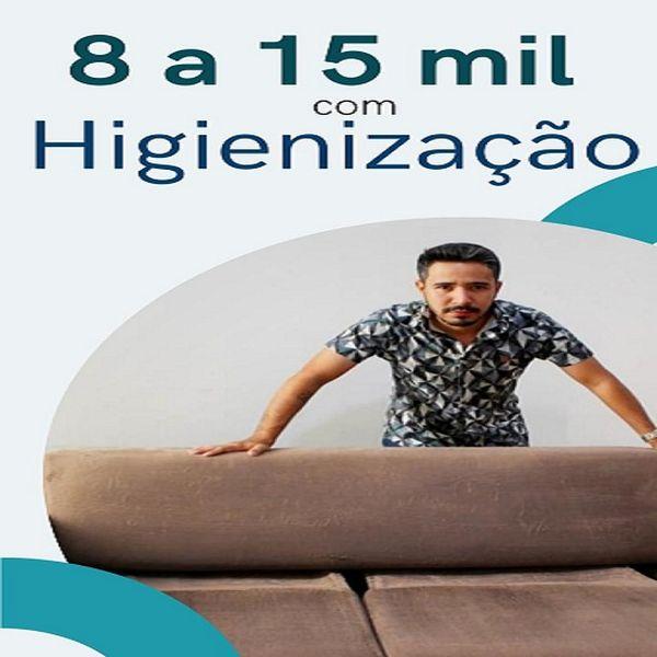 Imagem principal do produto Ganhe de 8 a 15 mil Reais Com Higienização de Estofados