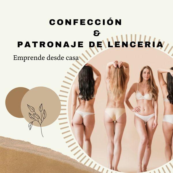 Imagem principal do produto curso de confeccion y patronaje de lenceria