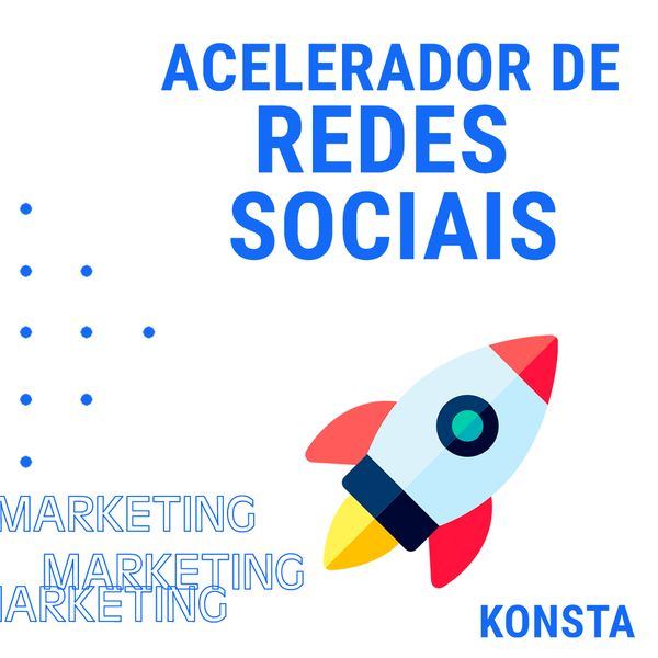 Imagem principal do produto Acelerador de Redes Sociais