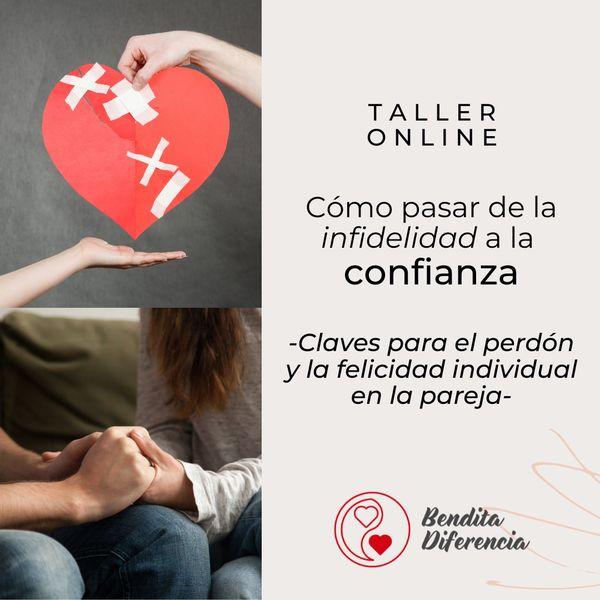 Imagem principal do produto Cómo pasar de la infidelidad a la confianza. Claves para el perdón y la felicidad individual en la pareja.