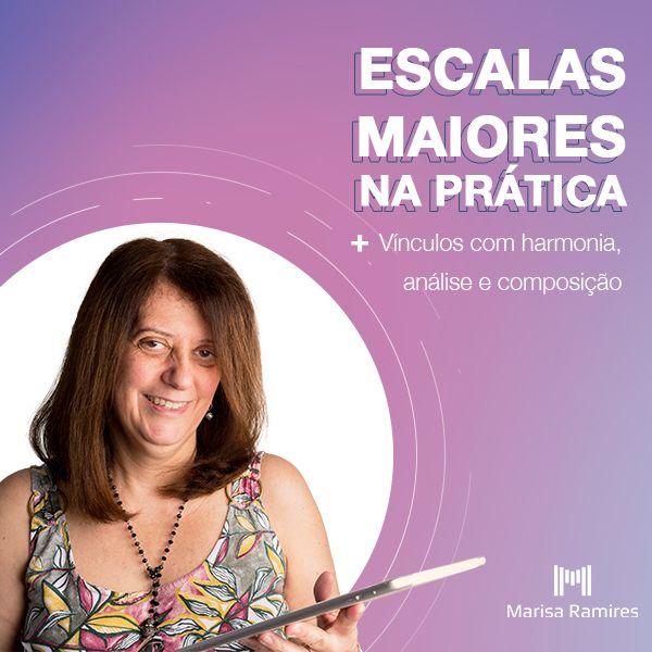 Imagem principal do produto ESCALAS MAIORES NA PRÁTICA