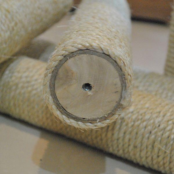 Imagem principal do produto Como fazer arranhador para gatos: Primeiros passos, pés e conexões.