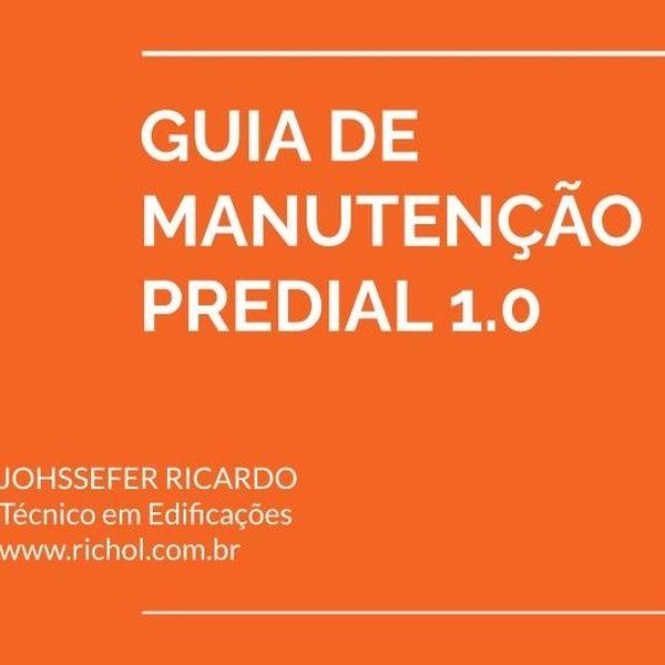 Imagem principal do produto GUIA DE MANUTENÇÃO PREDIAL 1.0