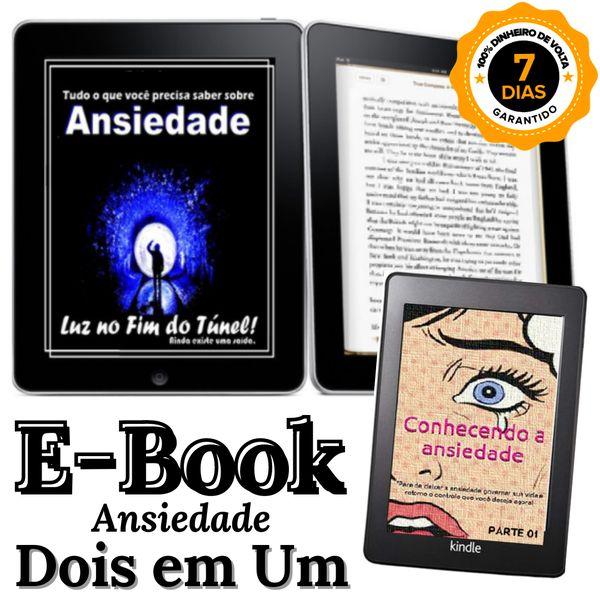 Imagem principal do produto E-book - Ansiedade / Luz no fim do Túnel.