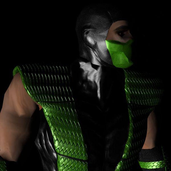 Imagem principal do produto iclone 7 mortal kombat Reptile arquivo (.iProject)