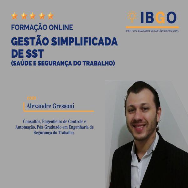 Imagem principal do produto GESTÃO SIMPLIFICADA DE SST (SAÚDE E SEGURANÇA DO TRABALHO)