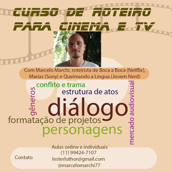 Imagem principal do produto Curso de Roteiro para Cinema e TV