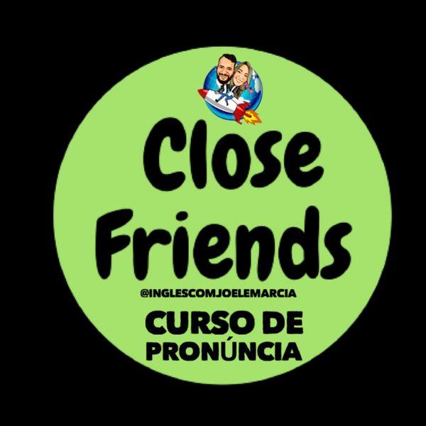 Imagem principal do produto Curso de pronúncia em Inglês - Close Friends