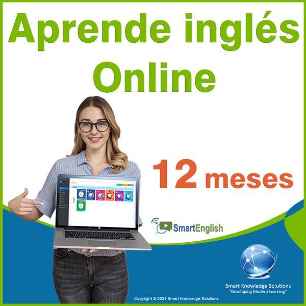 Imagem principal do produto Curso de inglés online programa completo autoestudio – Suscripción 12 meses incluye libro y certificado