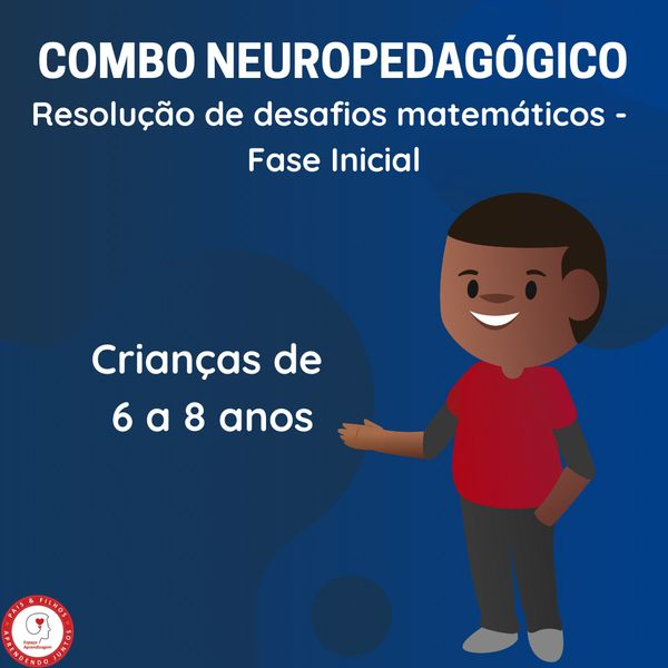 Imagem principal do produto COMBO 3 – Resolução de desafios matemáticos – Fase inicial (6 a 8 anos)