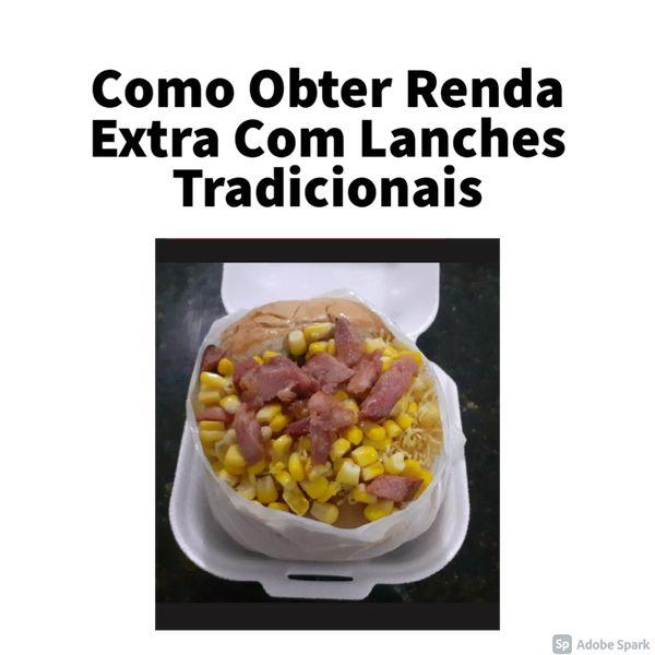 Imagem principal do produto Como Obter Renda Extra Com Lanches Tradicionais