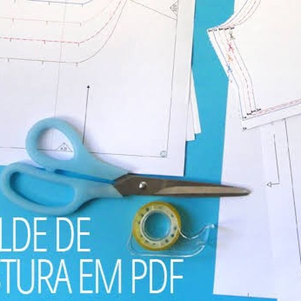 Imagem principal do produto 400 moldes em PDF em tamanho real