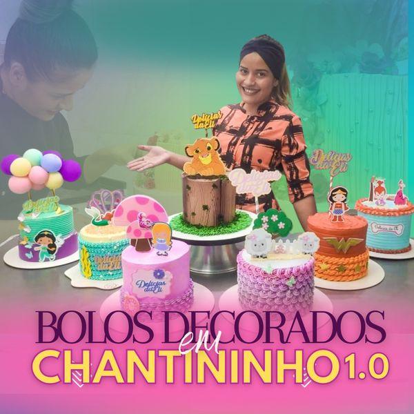 Imagem principal do produto Bolos Decorados em Chantininho 1.0