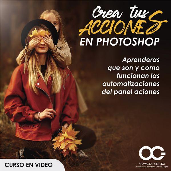 Imagem principal do produto CREA TUS ACCIONES EN PHOTOSHOP