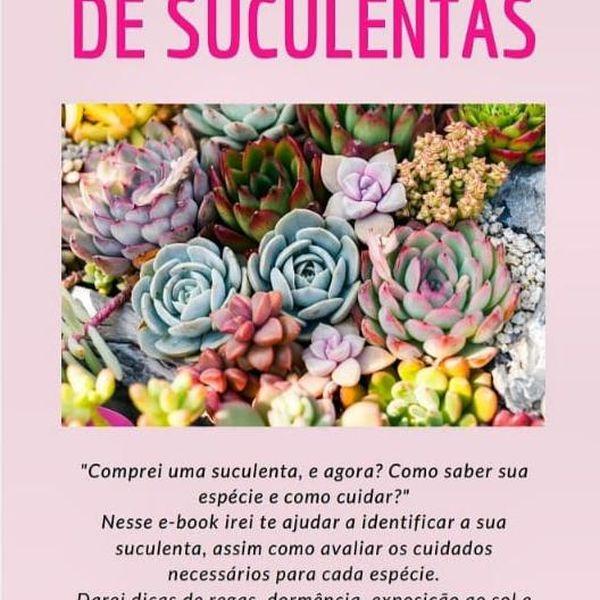 Imagem principal do produto E-BOOK DE IDENTIFICAÇÃO DE SUCULENTAS