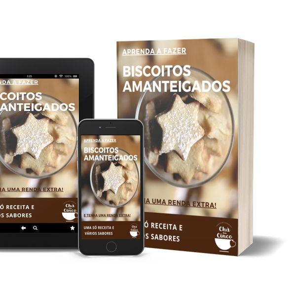 Imagem principal do produto Aprenda a fazer Biscoito Amanteigado