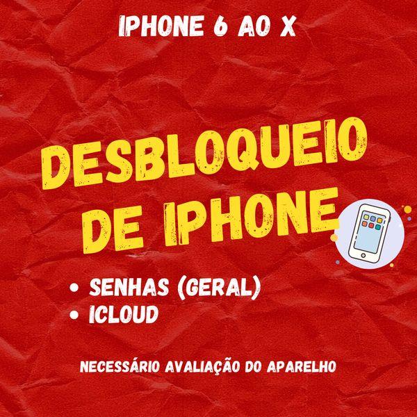 Imagem principal do produto Desbloqueio de Iphone