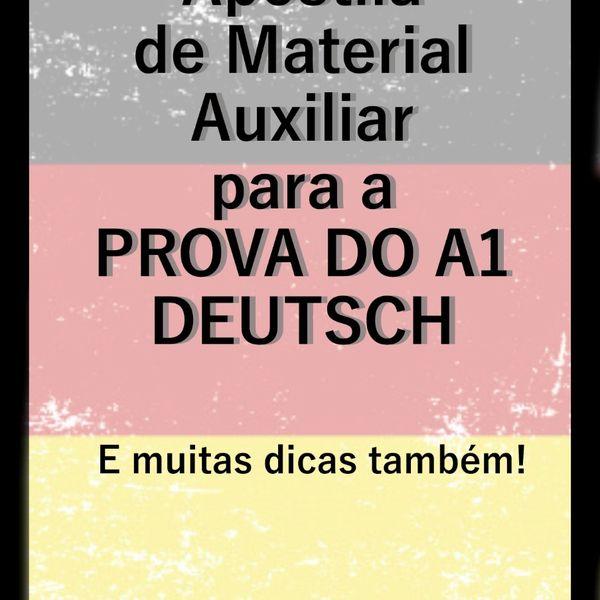 Imagem principal do produto APOSTILA DE ALEMÃO A1