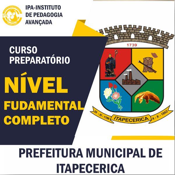 Imagem principal do produto FUNDAMENTAL ITAPECERICA CURSO PREPARATÓRIO