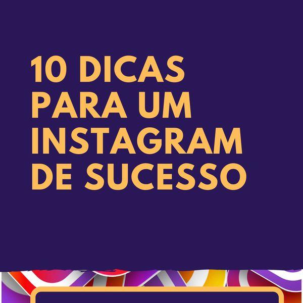 Imagem principal do produto Instagram 10 Maiores dicas