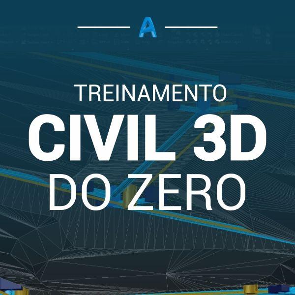 Imagem principal do produto Civil 3D do Zero
