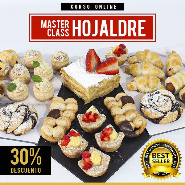 Imagem principal do produto MASTER CLASS: MASA HOJALDRE