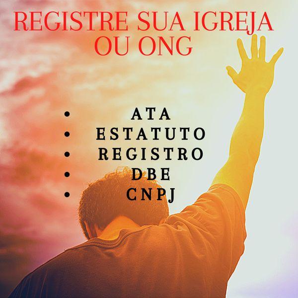 Imagem principal do produto Como fazer o Registro (CNPJ) para sua Igreja ou Ong.
