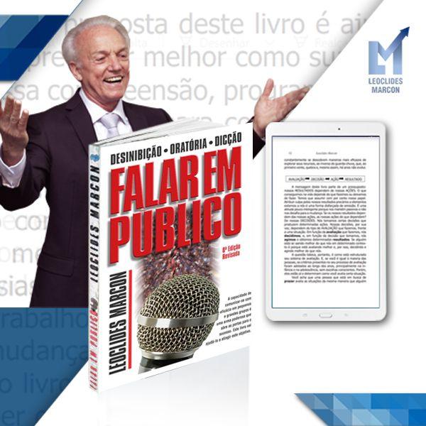 """Imagem principal do produto Falar em Público - """"Saber comunicar suas ideias é tão importante quanto tê-las"""""""