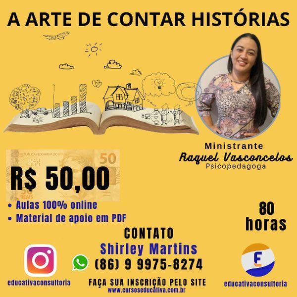 Imagem principal do produto A ARTE DE CONTAR HISTÓRIAS