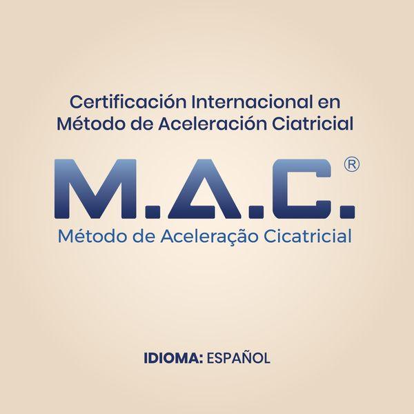 Imagem principal do produto Certificación Internacional en Método de Aceleración Cicatricial [MAC]
