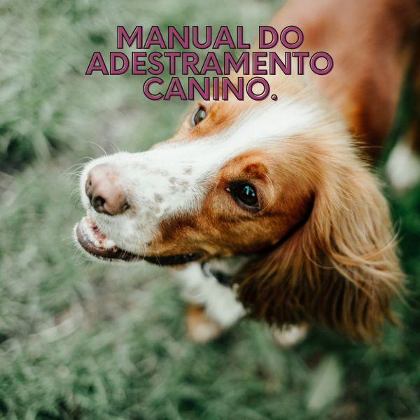 Imagem principal do produto MANUAL DE ADESTRAMENTO CANINO.