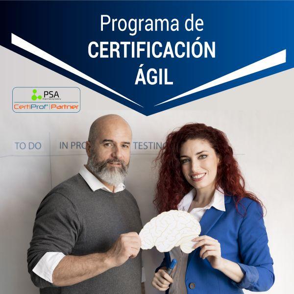 Imagem principal do produto PROGRAMA DE CERTIFICACIÓN ÁGIL