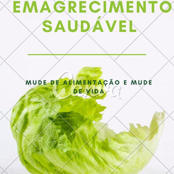 Imagem principal do produto EMAGRECIMENTO SAUDÁVEL