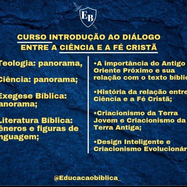 Imagem principal do produto Introdução ao diálogo entre a ciência e a fé cristã