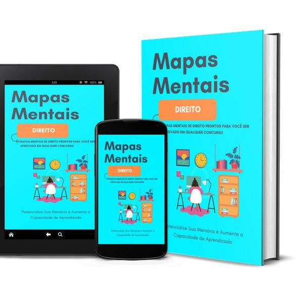 Imagem principal do produto Mapas Mentais de Direito para Concursos