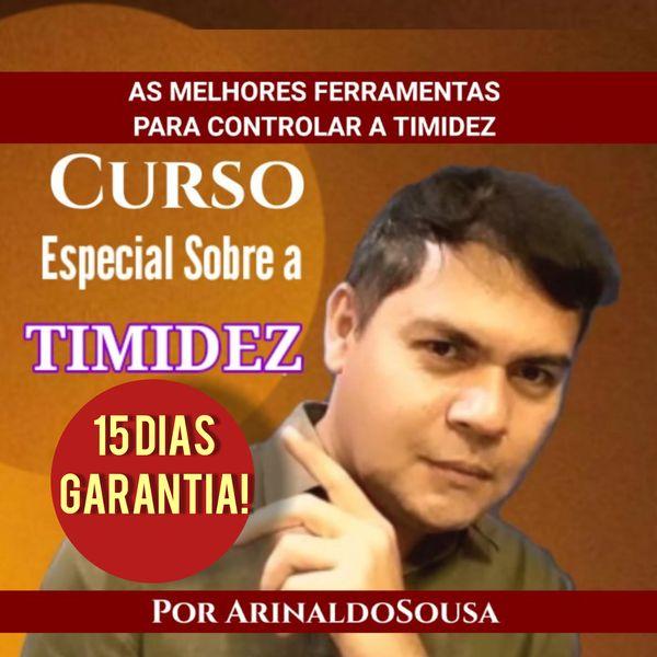 Imagem principal do produto CURSO ESPECIAL SOBRE A TIMIDEZ (Ferramentas para Controlar a Timidez)