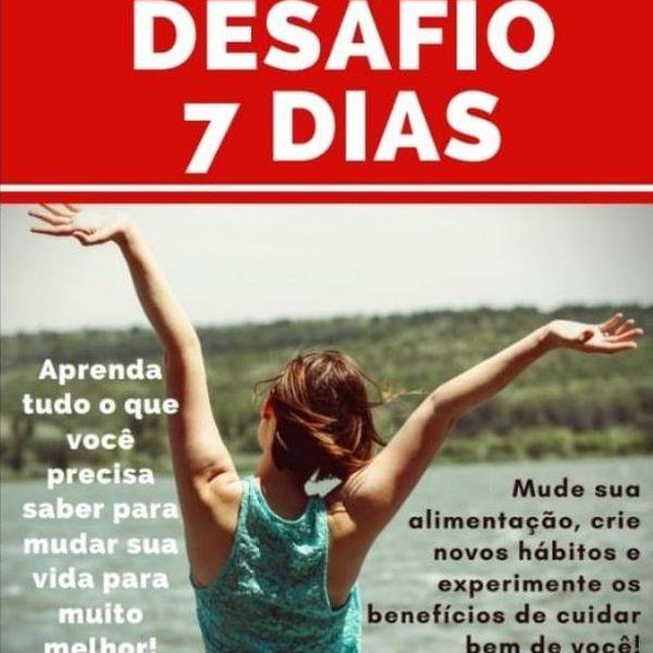 Imagem principal do produto DESAFIO DE 7 DIAS - EMAGREÇA COM SAÚDE