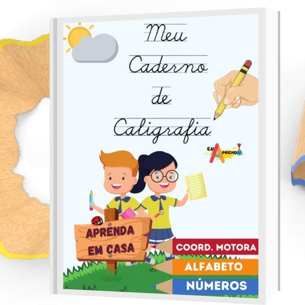Imagem principal do produto Caderno de Caligrafia - Para Crianças