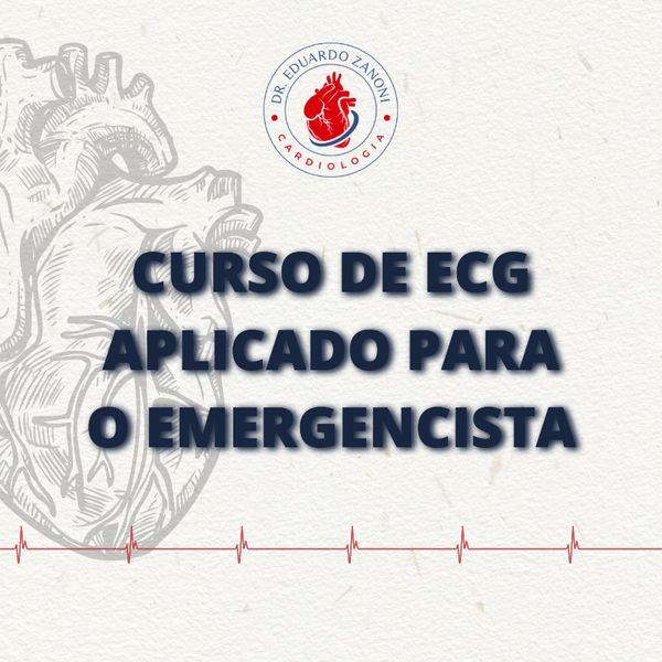 Imagem principal do produto Curso de eletrocardiograma aplicado para o emergencista