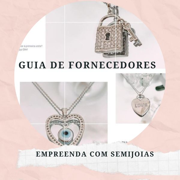 Imagem principal do produto Empreenda com Semijoias - Guia de Fornecedores