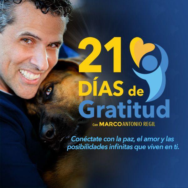 Imagem principal do produto 21 Días de Gratitud con Marco Antonio Regil