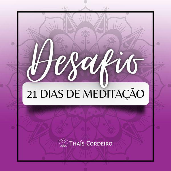 Imagem principal do produto Desafio de 21 dias de meditação