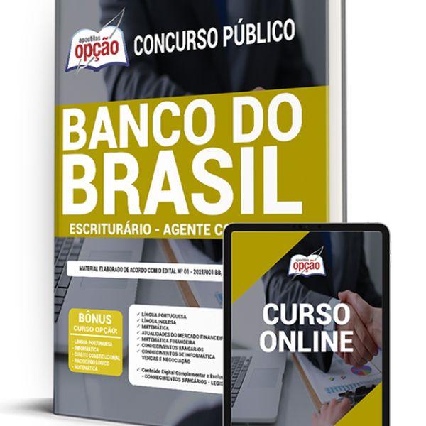 Imagem principal do produto Apostila concurso Banco do Brasil 2021