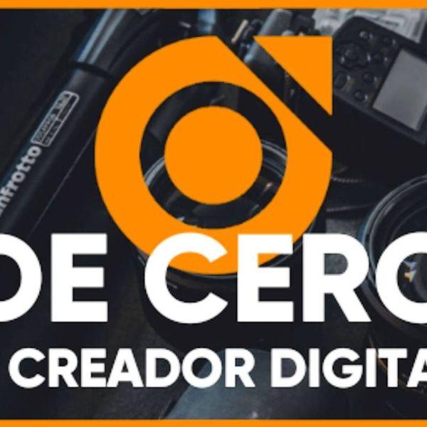 Imagem principal do produto De cero a Creador Digital