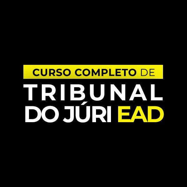 Imagem principal do produto Curso Completo de Tribunal do Júri - EAD
