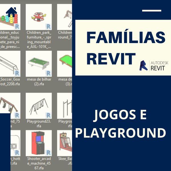 Imagem principal do produto Famílias para Revit Jogos e Playground 1.0