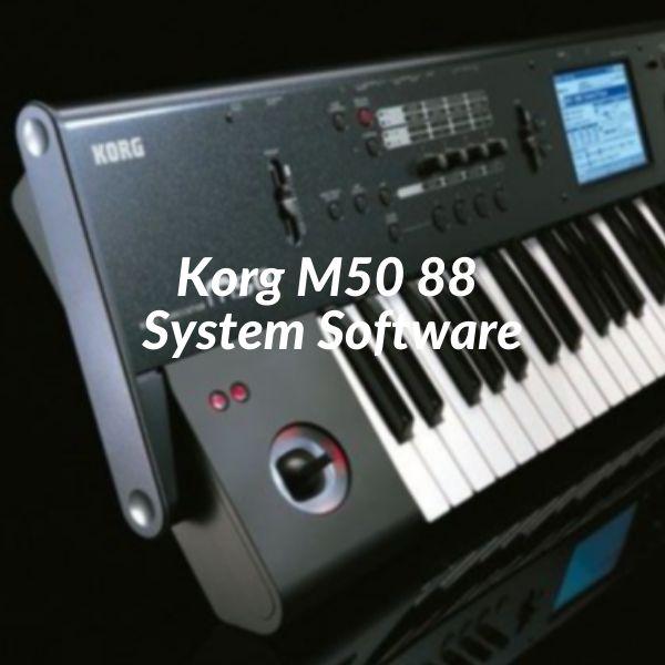 Imagem principal do produto Korg M50 88 System Software.